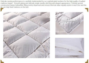 Hotel Used Thick Mattress Topper pictures & photos
