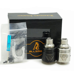 Unique Design Dry Wax Rda Mechanical 26650 Odin Atomizer