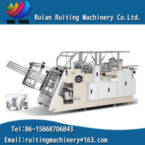 Rtzf800 Automatic PE Coated Paper Hamburger Box Forming Machine pictures & photos