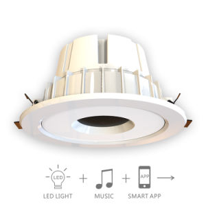 12W Smart Bluetooth Music LED Down Lamp
