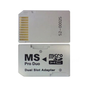 TF Card Micro SD Card to Memory Stick PRO Duo Dual Slot Adapter