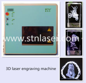 Crystal 3D Laser Subsurface Engraving Machine