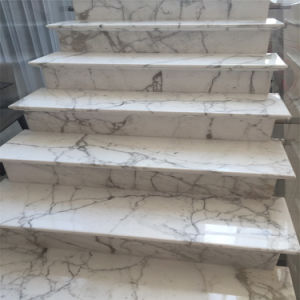 10 Mm White Calacatta Marble Tile