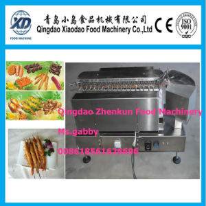 High Quality Satay Souvlaki Kebob Grill Machine pictures & photos