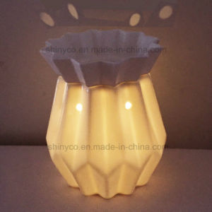 Electric Translucent LED Light Candle Warmer with Timer