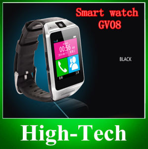 2014 Newest Smart Watch Gv08 Bluetooth Support SIM Card Smart Watch Phone with Camera Mate Handsfree Free Shipping