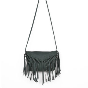 The Most Fashion High Quality Stylish Women Leather Fringe Bag pictures & photos