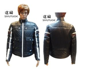 Men Winter Long Sleeve Padding Contract Clolor Jacket (SY-1535) pictures & photos