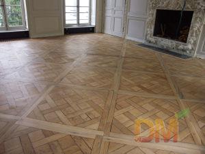 Chinese Teak Modern Design Wooden Parquet Flooring