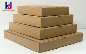 Environmental Plain Customized Pizza Brown Carton Paper Packaging Packing Box