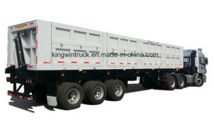 60tons Three Axles Side Tipper Trailer