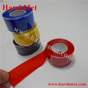 Silicon Self Fusing Tape for Electrical and Telecom, Silicone Rubber Self Fusing Tape for Coaxial Connectors, Silicone Tape Weatherproofing Tape pictures & photos