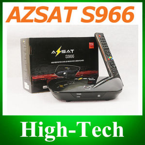 1PC Original Azsat S966 Satellite Receiver Azsat 966 Support Iks Sks for South America Better Than Tocomsat Free Shipping