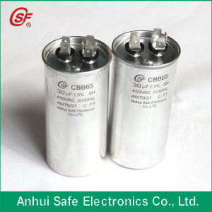 High Quality Round Type 450V Cbb65 Starting & Run Capacitor for Compressor pictures & photos