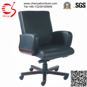 Gas Lift PU Armrest Office Chair with Five Star Foot (CY-C8012-3 KTG)