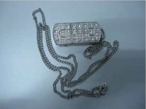 Wholesale Hot Sale Jewelry USB Flash Drive Metalflash Memory pictures & photos