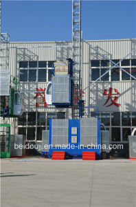 2t Single Cage Material Hoist for Construction pictures & photos