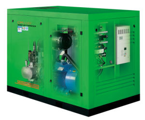 Variable Frequency Oil Free Screw Air Compressor of Water Lubrication 110kw 150HP pictures & photos