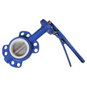 Wafer Butterfly Valve with Teflon Seat pictures & photos