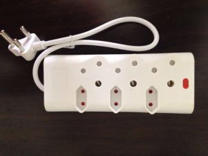 Hot Sale SABS Certificate South Africa Extension Socket with Neon pictures & photos