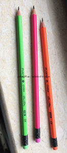 High Quality Plastic Round/Hexagon Hb Color Pencils