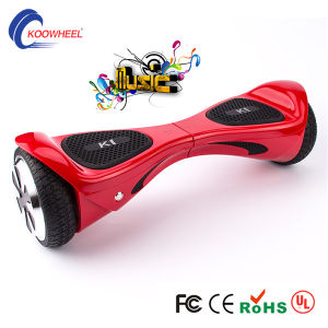UL Certification Two Wheels Smart Electric Self Balance Scooter with Bluetooth pictures & photos