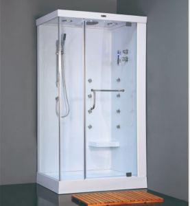 Bathroom Furniture Simple Wooden Steam Bath Sauna Cubicle Square Shower  Enclosure Room