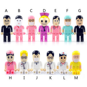 Hospital Promotional Gifts Doctor USB Flash Drive 4GB 8 G, White 2GB Nurse Flash Drive USB Stick pictures & photos