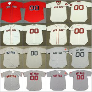 timeless design ed843 a9a79 S-5XL Ted Williams Dustin Pedroia Throwback Baseball Jersey