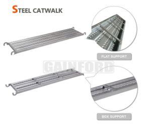 Pre-Galvanized Catwalk Hook Plank Steel Platform for Construction