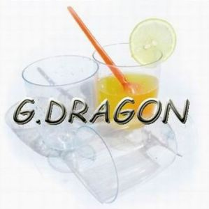 Party Tableware Plastic Goblet Cup (GD-G1)