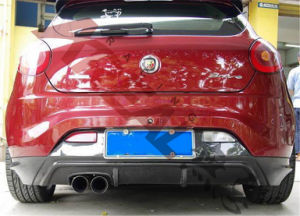 Carbon Fiber Rear Diffuser for FIAT Bravo 2008 (CR21-010-0-1-00) pictures & photos