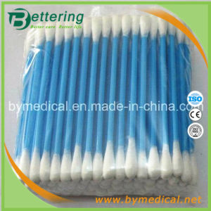 Disposable Medical and Cosmedic Use Plastic Stick Cotton Swab pictures & photos