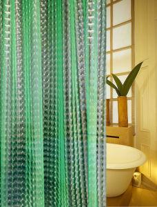 China Td04 Eco EVA Vinyl Shower Curtain Liner