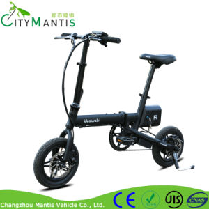 36V 250W Lightweight Electric Bike Mini Folding Ebike