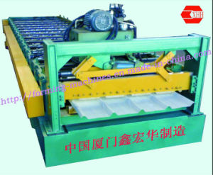 Roofing Forming Machine Steel Tile Roofing Machine Metal Tile Roofing Machinery pictures & photos