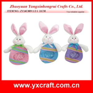 Easter Decoration (ZY14C889-1-2-3 31CM) Easter Rabbit pictures & photos