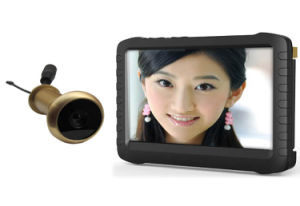 Wireless Front Door Eye Viewer Camera with 5 Inch Mini DVR Monitor pictures & photos