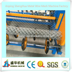 High Speed Automatic Chain Link Fence Machine (double wire) pictures & photos