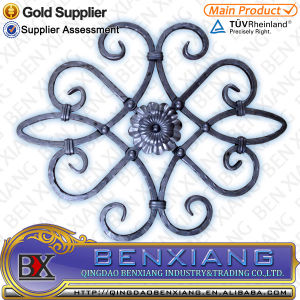 High Quality Wrought Iron Rosette pictures & photos