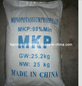 Mono Potassium Phosphate (MKP) Min 99% 98% for Agriculture China Manufacturer pictures & photos