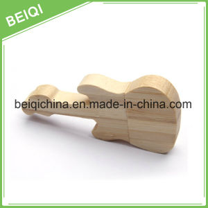 Guitar Style Wooden USB Stick for Promotion Gift pictures & photos