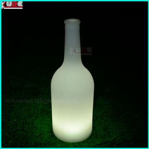 Illuminated LED Advertise PE Plastic Beer Bottle with Customer Logo pictures & photos
