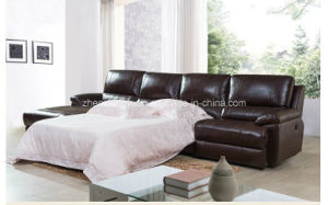 Living Room Furniture Sectional Recliner Sofa Leather Sofa Bed L Shape Sofa Bed