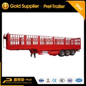 3 Axles Poultry Transport Truck Trailer for Sale