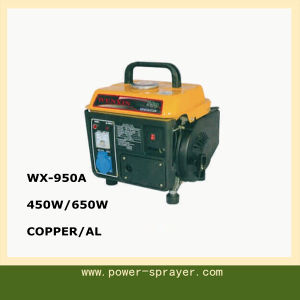 Camping Use Super Quite Portable 650W/450W Min Gasoline Generator 950A pictures & photos