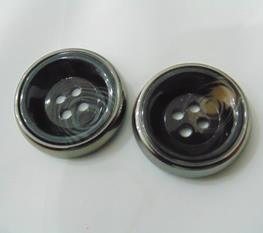 The New Fashion UV (plated) Button (UV-015)