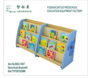 2014 New Model Cartoon Design Bookshelf For Preschool Library