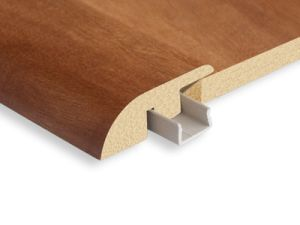 China Mdf T Molding Reducer End Cap Stair Nose Quarter Round Skirting