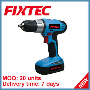 Fixtec 20V 13mm Li-ion Portable Electric Drill (FCD20L01) pictures & photos